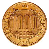 Revers 1000 pesos