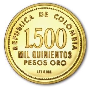 Revers 1500 pesos