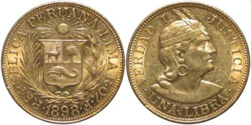 1 libra 1898