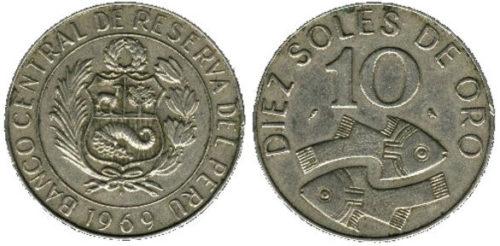10 soles 1969