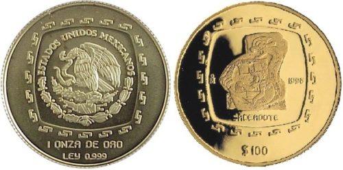 100 pesos 1996 : Sacerdote