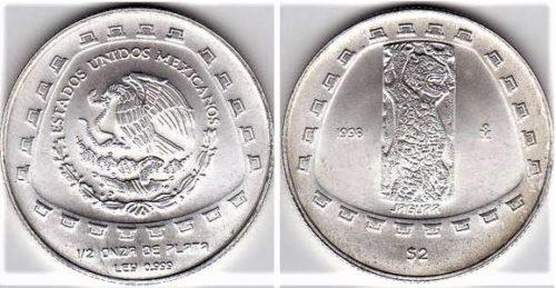 2 pesos Jaguar