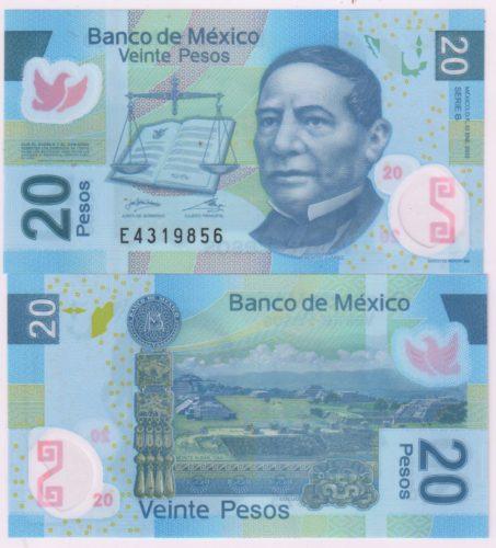 20 pesos 2006-2012