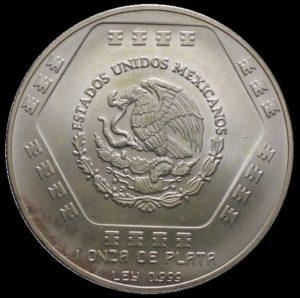 Avers 5 nuevos pesos Chaac-mool
