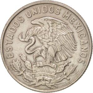 Avers 50 centavos 1964