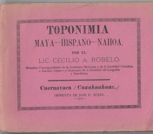 Toponimia maya-hispano-nahoa