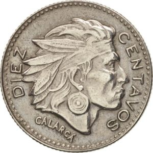 Revers 10 centavos