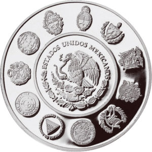 5 pesos 1999 : Águila y Serpientes