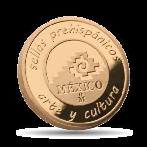 Revers  sellos prehispánicos / arte y cultura