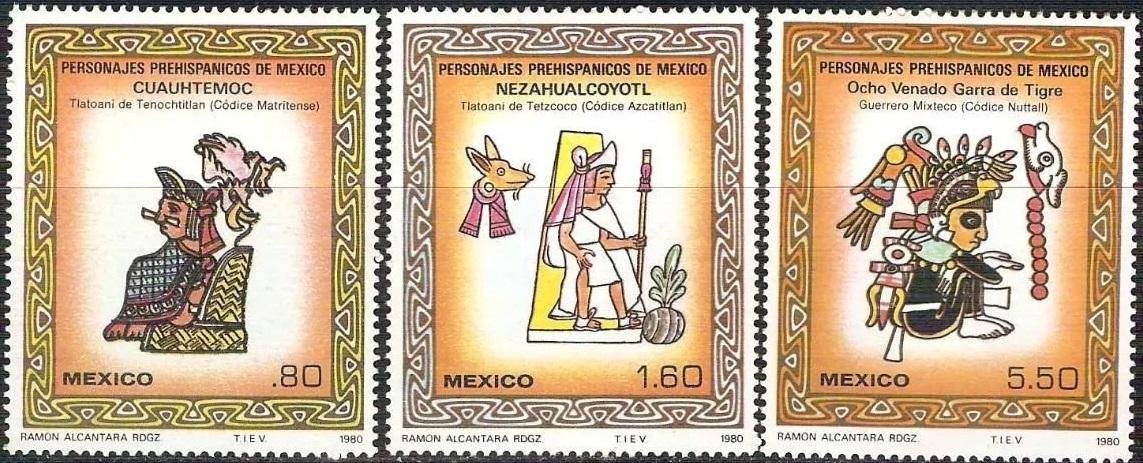 Personajes Prehispanicos de Mexico