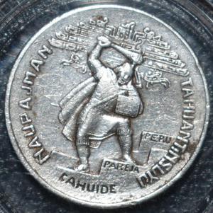 Avers 50 centavos oro 1932