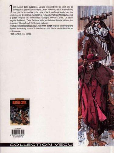 Quetzalcoatl 1 : 4e de couv.