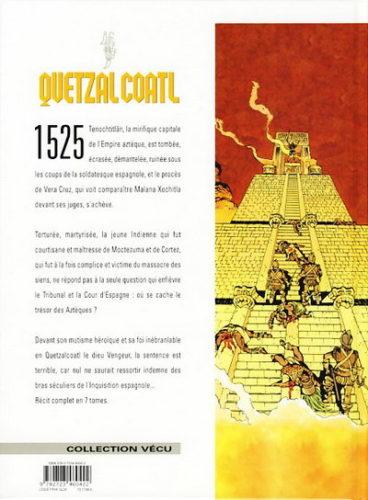 Le secret de la Malinche : 4e de couv.
