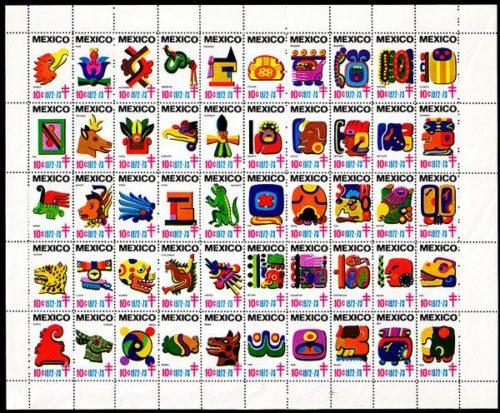 symboles aztèques et mayas