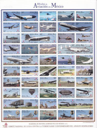 100 años de aviación de México