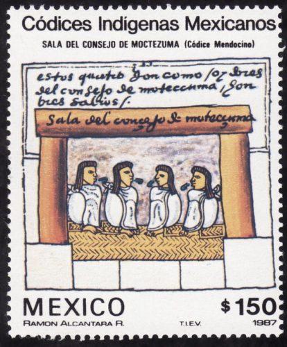 Sala del consejo de Moctezuma