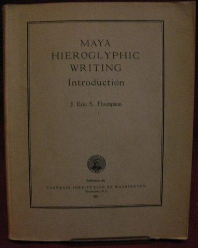 Maya hieroglyphic writing : introduction