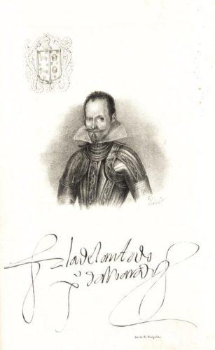 Portrait de Pedro de Alvarado