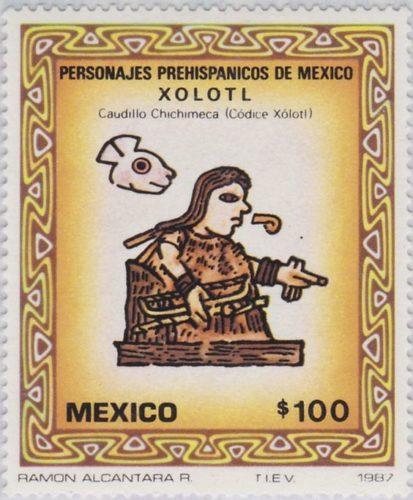 Xolotl, caudillo Chichimeca (codice Xolotl)