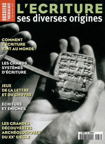 Dossiers d'archéologie, n° 260