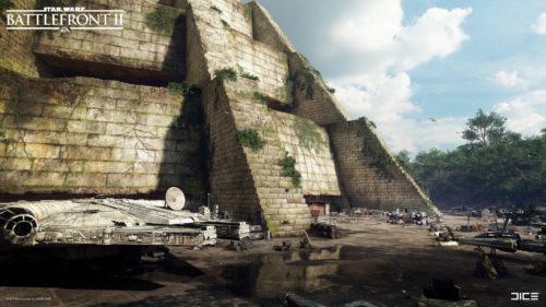 Base de Yavin 4 de Star Wars: Battlefront II