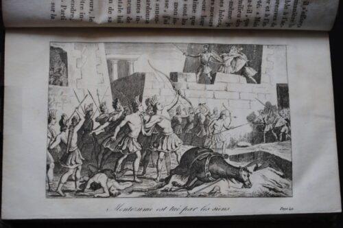 Histoire de la découverte de l'Amérique : Moctezuma