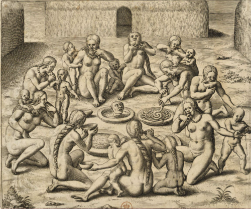 Théodore de Bry (1528-1598), America tertia pars, Vol. II, 1592, p. 128.
