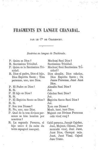 Fragments en langue Chanabal, p. 515