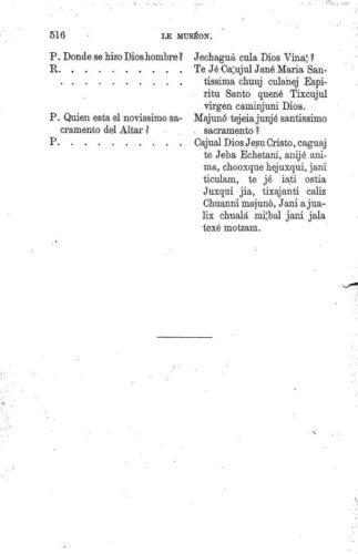 Fragments en langue Chanabal, p. 516
