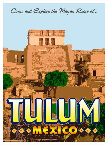 Come and explore the Mayan ruins of Tulum Mexico