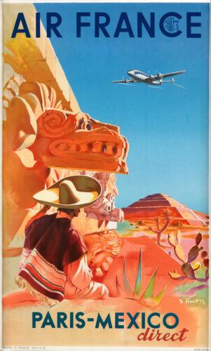 Air France Paris-Mexico direct