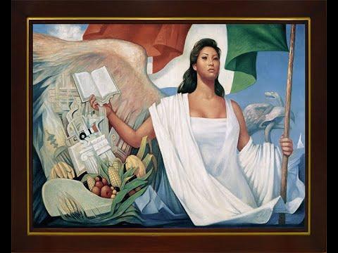 """""""La Patria"""" du peintre de Jorge González Camarena"""