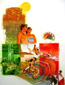 Affiche des années 1970
