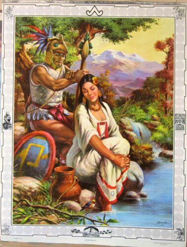 Popocatépetl et Iztaccíhuatl avec le volcan Iztaccíhuatl en arrière fond. Demetrio Llorden