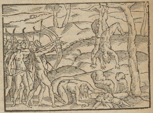 """""""Comme les Amazones traitent ceux qu'il [sic] prennent en guerre"""","""