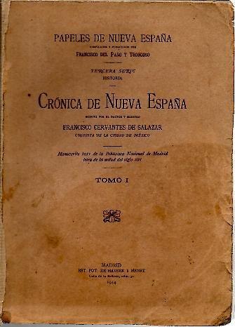Crónica de Nueva España
