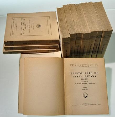 Epistolario de Nueva España  1505-1818
