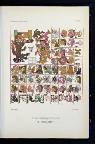 Essai sur le déchiffrement de l'écriture hiératique de l'Amérique Centrale : planche XVIII
