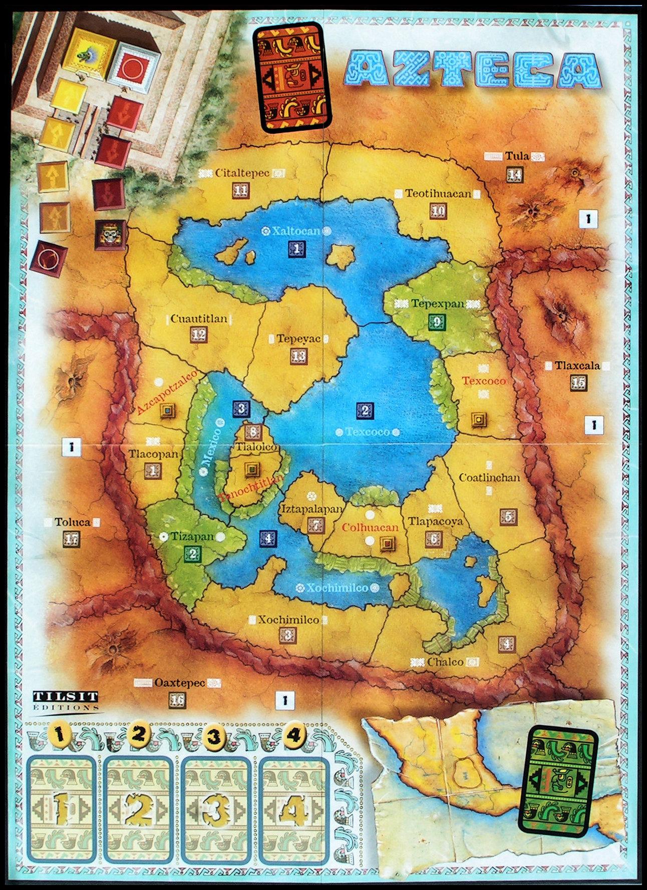 Carte d'Azteca