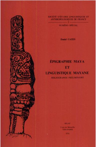 Epigrafía maya y lingüística mayance