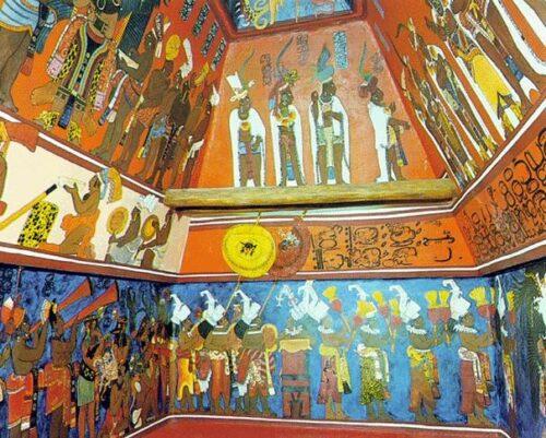 Bonampak : reconstitution de Antonio Tejeda