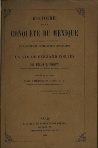 Histoire de la conquête du Mexique