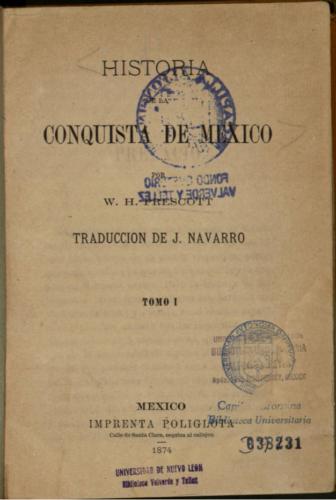 Historia de la conquista de Mexico