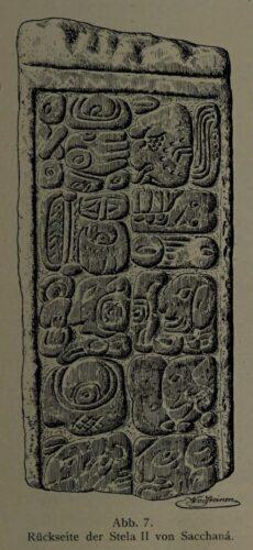 Abb. 7. Rückseite der Stela II von Sacchanä