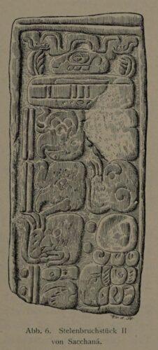 Abb. 6. Stelenbruchstück II von Sacchanä