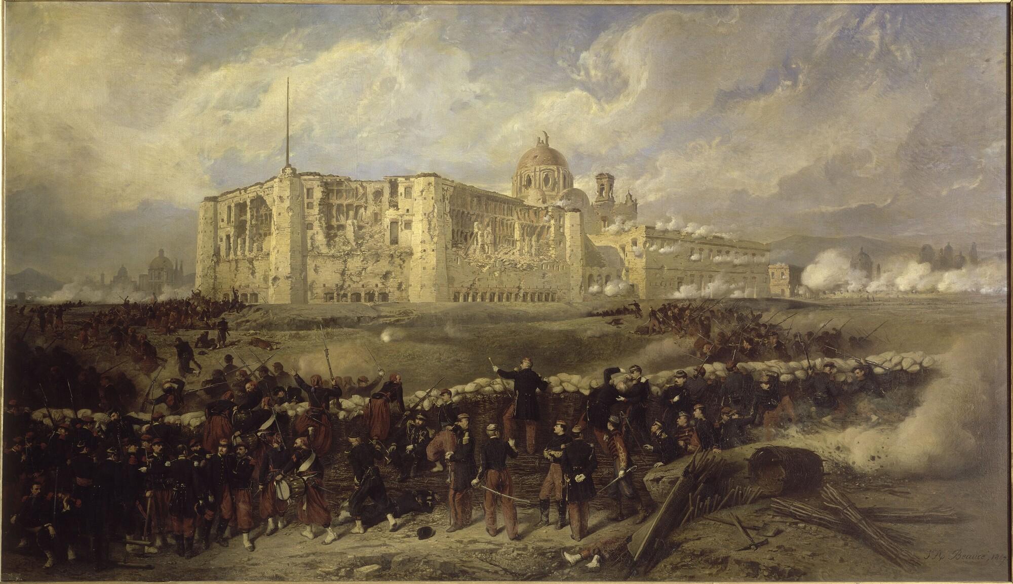 Siège de Puebla, prise du fort San Xavier, 29 mars 1863